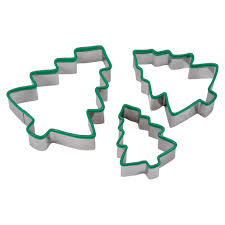 shop for the christmas tree silicone edge cookie cutters by