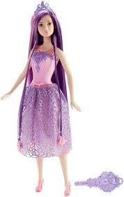 barbie endless hair kingdom princess doll purple hair dkb59