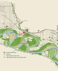 map of missouri river on the lewis and clark trail