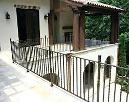 wrought iron outdoor stair railing enchanting metal hand railings