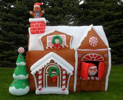 nib gemmy 8 5ft christmas animated airblown inflatable gingerbread