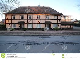 two storey house half timbered two storey house in weitenhagen mecklenburg