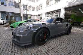 Stone Cold Grey Porsche 911 Gt3 Rs Wrap For The Slightly