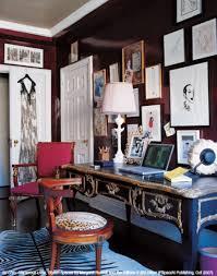 Elle Decor Home Office Amy Fine Collins U0027 Office Dressing Area I Love Love Love The