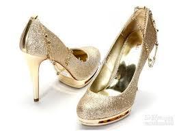 wedding shoes korea 2012 nightclub wedding shoes gold waterproof ultra high heels