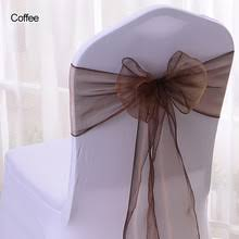Diy Wedding Chair Covers Popular Diy Chair Covers For Weddings Buy Cheap Diy Chair Covers