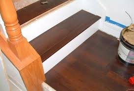 Laminate Flooring Stairs Stair Nose Trim For Laminate Flooring Wood Floors Snap Together