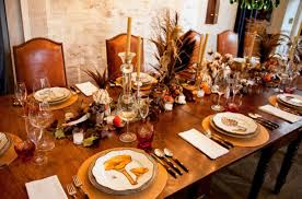 bronson wyck sets a rustic thanksgiving table architectural