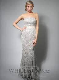 sequin lace one shoulder u0026 strapless wedding dress evening