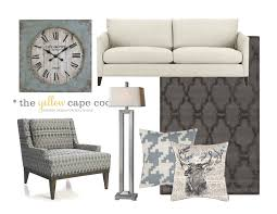 What Is A Great Room Floor Plan The Yellow Cape Cod A Young Fresh Transitional Style Family Room