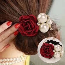 hair bands for women aliexpress buy 1 pcs big flower decor elastic hairband for