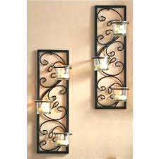 Glass Wall Sconce Candle Holder Wall Art Candle Holder Sconce Image Of Candle Holder Wall Sconces