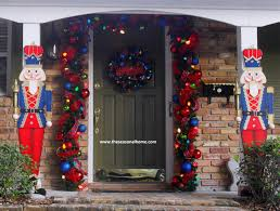christmas porch decorations astonishing front porch christmas decorations images decoration
