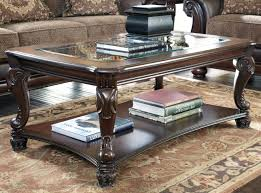 coffee tables attractive ashley furniture norcastle rectangular