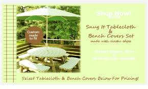 picnic table cover set just cover it up picnic tablecloth bench covers set
