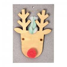 Wooden Deer Christmas Decorations by Christmas Decorations Ohh Deer