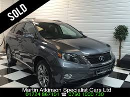 cvt lexus used lexus rx 450h 3 5 v6 advance 5dr cvt auto sunroof for sale