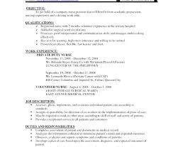 Staff Resume In Word Format modern staff resume format doc resume format for nursing