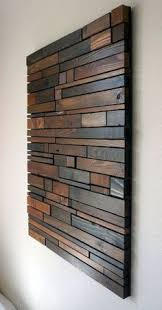 mixed wood wall easy cheap diy wood walls woods and create