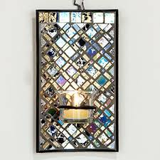 Mosaic Wall Sconce Mosaic Scones Gold Silver Mosaic Sconce Wall And Decor