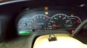possessed gauge cluster 2000 ford windstar youtube