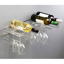 chrome wall mounted wine racks ebay