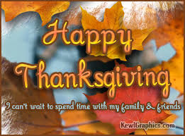 happy thanksgiving spend time with family friends graphic