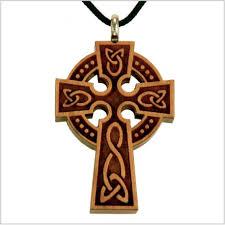 wooden celtic cross necklace wooden celtic cross les créations charbonneau inc