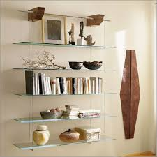 tempered glass shelves for kitchen cabinets nuvola hanging glass shelves glass shelves decor glass