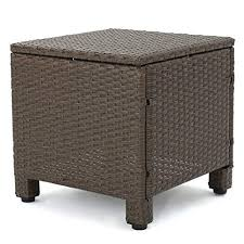 venice patio furniture 5 piece outdoor wicker conversation set