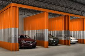 auto body shop curtain
