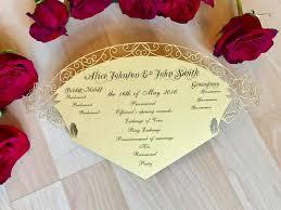 laser cut wedding programs beauty and the beast inspired wedding program fan custom