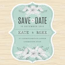 save the date wedding invitations save the date wedding invitation card template with flower