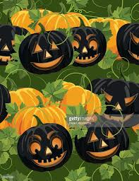 halloween repeating background patterns seamless autumn halloween background pattern vector art getty images