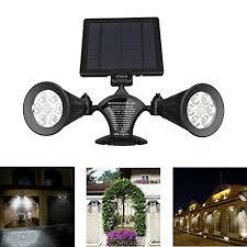 solar motion sensor light outdoor ithird 12 led 600lm solar