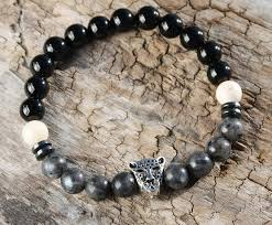 onyx pearl bracelet images Onyx and mother of pearl natural stone bracelet jpg