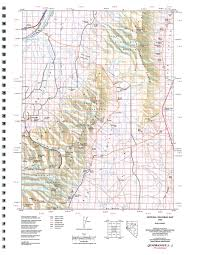 Sparks Nevada Map Nevada Map Wheeler Peak Trail Via Stella Lake Trail Nevada Maps 25