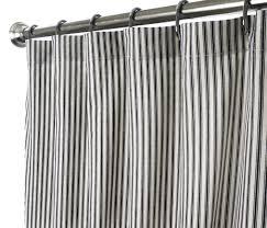 Nautical Curtain Fabric Curtain Fabric Shower Curtains Ticking Stripe Nautical Rings