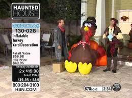 Yard Decoration Inflatable Turkey Yard Decoration Youtube