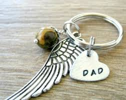 Remembrance Keychain Angel Wing Keychain