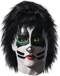 kiss peter criss catman costume deluxe mask walmart com
