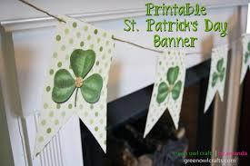 Shamrock Decorations Home Craftaholics Anonymous 17 St Patrick U0027s Day Garlands