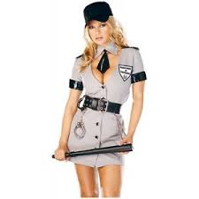 Size Halloween Costume Corrections Officer Prison Guard Police Halloween Costume