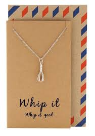 necklace gift images Nadja whisk necklace gift for bakers funny greeting card quan jpg