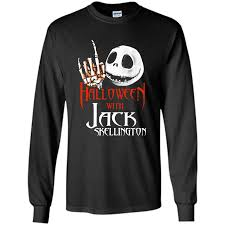 halloween with jack skellington shirt u2013 trend shirt