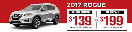 nissan rogue lease price nissan lease specials