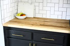 all about our diy butcher block countertops create enjoy