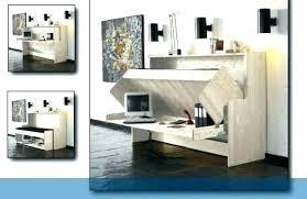 commode bureau escamotable lit et bureau lit et bureau un lit mezzanine avec commode et bureau