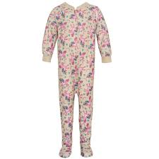 zipper unicorn print overall footed pajamas baby babysteals
