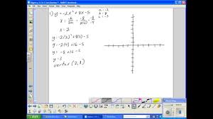 algebra 2 ch 5 test review youtube